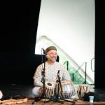 PS21 2015 Indian Concert Samir Chatterjee Steve Gorn side