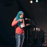PS21 2015 Summer Shtick Lily Balsen agri-hijab