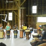 PS21 2015 WEST AFRICAN DANCE & DRUM WORKSHOP 2 photo J Grunberg