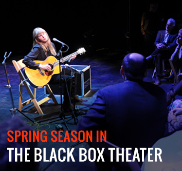 Rory Block performing at The Black Box Theater