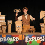 Just for Fun: Cardboard Explosion with puppeteer Brad Shur